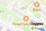 Схема проезда до компании Кабинет юридических и бухгалтерских услуг в Москве