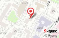 Схема проезда до компании Институт Финансовых Технологий в Москве