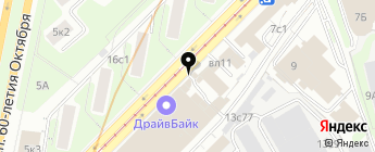 Автодети на карте Москвы