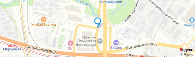Нововладыкинский проезд