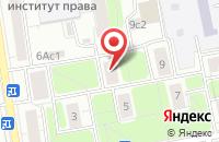 Схема проезда до компании Хорс в Москве