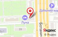 Схема проезда до компании Окна Фаворит Трейд в Москве