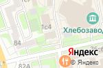 Схема проезда до компании Deerz.ru в Москве