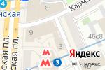Схема проезда до компании РусИнфоТур в Москве