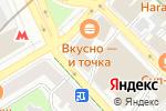 Схема проезда до компании Русская дорога в Москве