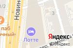 Схема проезда до компании Адвокат в Москве