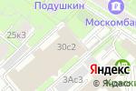 Схема проезда до компании Y-trend в Москве