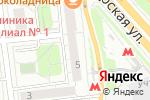 Схема проезда до компании MilaVitsa в Москве