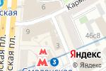 Схема проезда до компании Мастерская по изготовлению ключей в Троилинском переулке в Москве