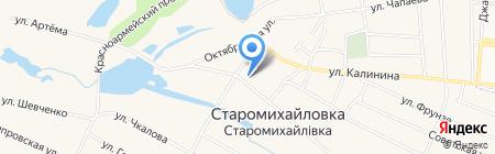 Старомихайловская амбулатория общей практики семейной медицины на карте Старомихайловки