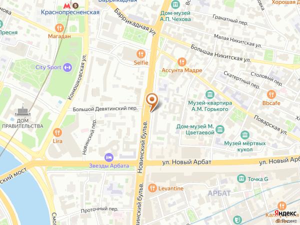 Остановка Дом Шаляпина в Москве