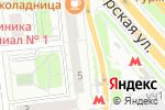Схема проезда до компании Cavaliere в Москве