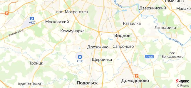 848 автобус в Щербинке