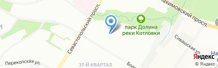 Средняя общеобразовательная школа №1948 Лингвист-М на карте Москвы