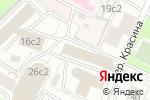 Схема проезда до компании Белый медведь в Москве