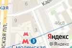 Схема проезда до компании Туринформ в Москве