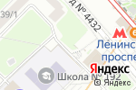 Схема проезда до компании Евросервис №1 в Москве