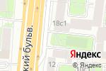 Схема проезда до компании На Новинском в Москве