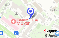 Схема проезда до компании ТРАНСПОРТНАЯ КОМПАНИЯ СКАТ-ТРЕЙД-М в Москве