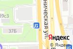 Схема проезда до компании Киоск по продаже цветов в Москве