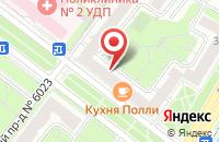 Схема проезда до компании Паладин в Москве