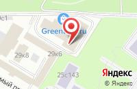 Схема проезда до компании Эко-Строй в Москве