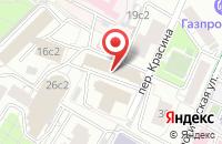Схема проезда до компании Информационно-Аналитический Центр «Тезаурус-Право» в Москве