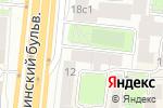 Схема проезда до компании Virtuozzo в Москве