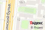 Схема проезда до компании Калифорния Клинерс в Москве