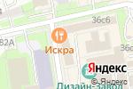 Схема проезда до компании Showroom11 в Москве