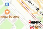 Схема проезда до компании Fflowers в Москве