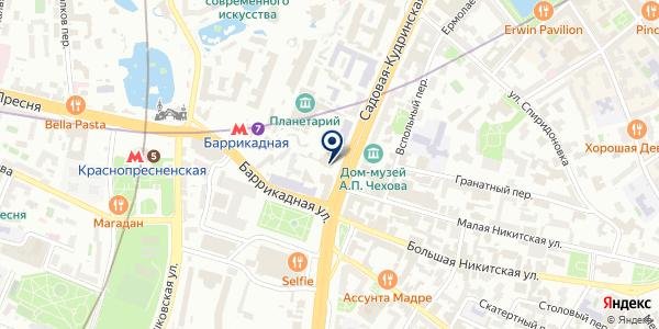 Facetrip.ru на карте Москве