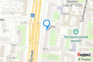Однокомнатная квартира в Москве м. Баррикадная, Новинский бульвар, 18с1