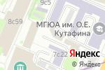 Схема проезда до компании Проксимо в Москве