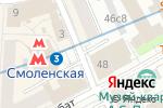 Схема проезда до компании Донеретт в Москве