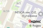 Схема проезда до компании Веда в Москве