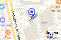 Схема проезда до компании СТО ИСТ-Ф в Москве