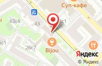 Схема проезда до компании Новый Брэнд в Москве