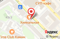 Схема проезда до компании Оберег в Москве