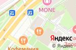 Схема проезда до компании Формула Кино в Москве