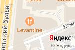 Схема проезда до компании A.v.e Luxury в Москве