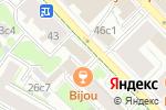 Схема проезда до компании Русинвесткомъ в Москве