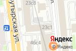 Схема проезда до компании Gepa Net в Москве