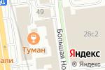 Схема проезда до компании ПрофБухКонсалт в Москве