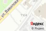Схема проезда до компании Автомойка на ул. Вавилова в Москве