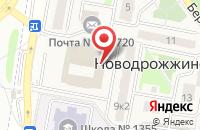 Схема проезда до компании Aromarti.ru в Новодрожжино