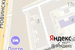 Схема проезда до компании Управляющая компания Арбат в Москве
