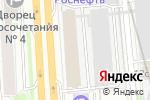 Схема проезда до компании МДМ Инфосистемы в Москве