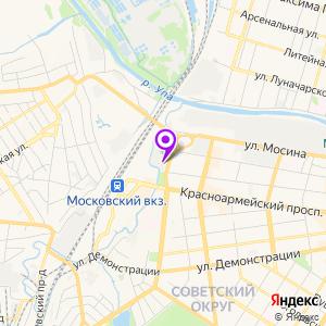 Центр лучевой диагностики Консультант на Смирнова на карте