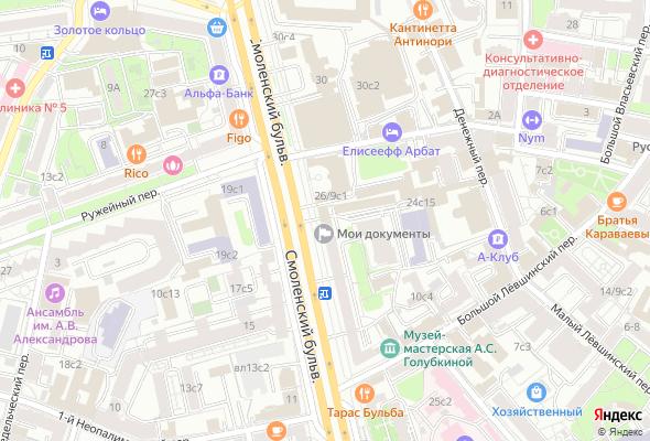 ЖК Смоленский бульвар 24